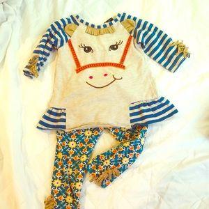 Darling Horse toddler set